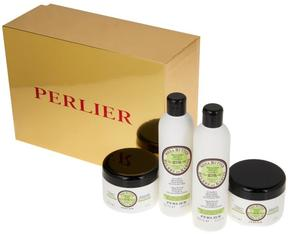 Perlier Shea Coconut 4-piece Kit with Gift Box