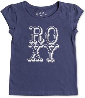 Roxy Logo Cotton T-Shirt, Toddler Girls (2T-5T)