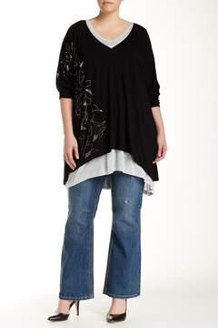 Melissa McCarthy Bootcut Jeans (Plus Size)
