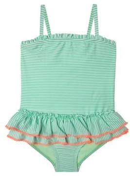 Hula Star Little Girl's Sailor Stripe One-Piece Swimsuit