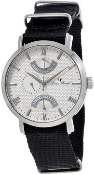Lucien Piccard Verona Silver Dial Men's Dual Time Watch