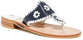 Jack Rogers Pebble Grain Thong Sandal