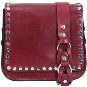 Isabel Marant Bordeaux Leather Minza Shoulder Bag