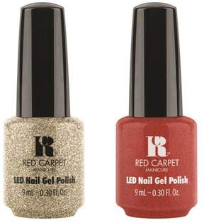 Red Carpet Manicure LED Gel Polish Duo - Gowns and Crowns/Palace Paprazzi