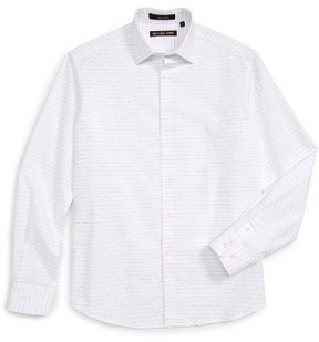 Boy's Michael Kors Stripe Dress Shirt