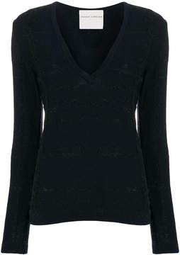 Stephan Schneider long sleeved V-neck sweater