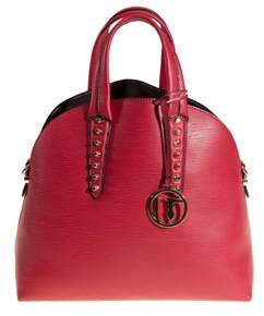 Trussardi Women's Red Polyurethane Handbag.