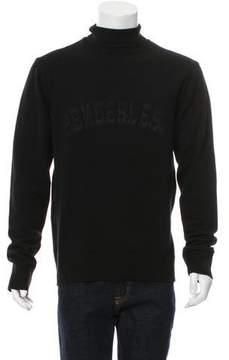 Juun.J Genderless Turtleneck Sweater w/ Tags