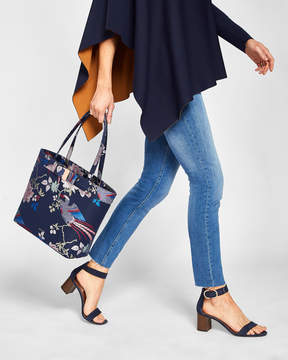 Ted Baker ORLEAA Chinoiserie Jacquard shopper bag