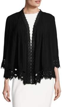 Context Floral Embroidered Cardigan