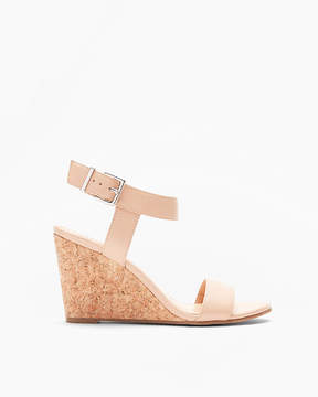 Express Dressy Wedge Sandals