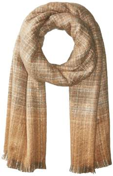 Lauren Ralph Lauren Boucle Textured Check Scarf Scarves