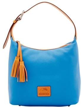 Dooney & Bourke Patterson Leather Paige Sac Shoulder Bag - AZURE - STYLE