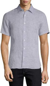 Orlebar Brown Men's Meden Tailored Sport Shirt
