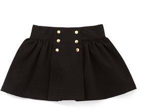 Edgehill Collection Little Girls 2T-6X Pleated Skirt