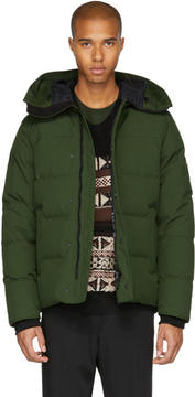Kenzo Green Down Coat