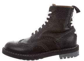 Givenchy Wingtip Combat Boots