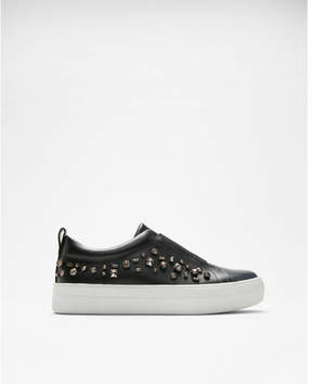 Express jewel embellished platform sneakers