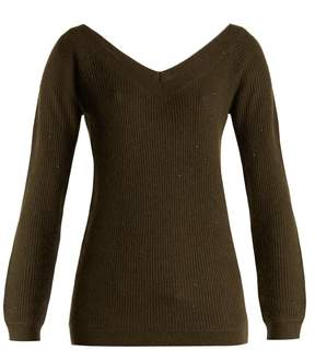 Brunello Cucinelli Sequin-embellished cashmere-blend sweater