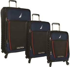 Nautica Dockyard 3-Piece Luggage Set