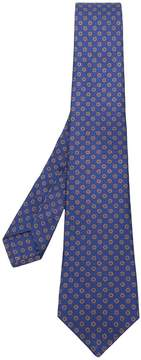 Kiton patterned tie