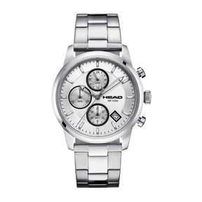 Head Match Point Mens Silver Tone Bracelet Watch-He-004-02