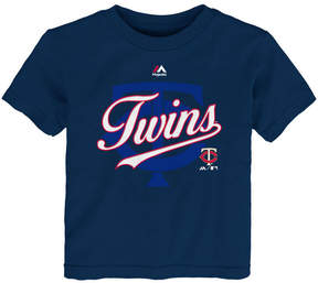 Majestic Minnesota Twins The Game Cotton T-Shirt, Toddler Boys
