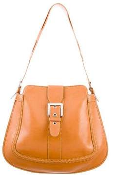 Tod's Leather Buckle-Accented Bag