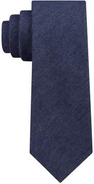 DKNY Men's Denim Solid Slim Tie
