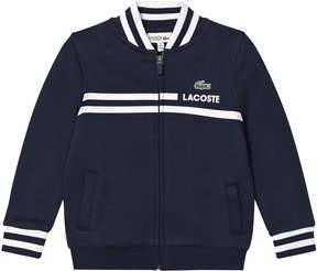 Lacoste Navy Classic Tennis Full Zip Sweatshirt