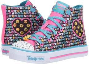 Skechers Twinkle Toes - Shuffles 10830L Lights Girl's Shoes