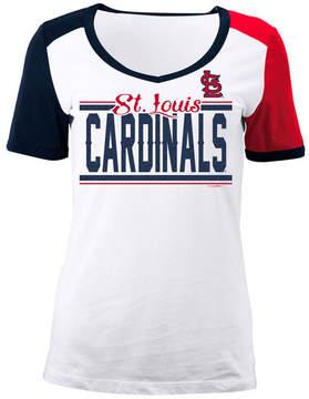 5th & Ocean Women's St. Louis Cardinals Cb Sleeve T-Shirt