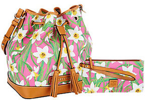 Dooney & Bourke As Is Daffodil Drawstring Bag - ONE COLOR - STYLE