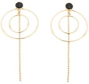 Danielle Nicole Taylor Multi-Hoop Drop Front-to-Back Earrings