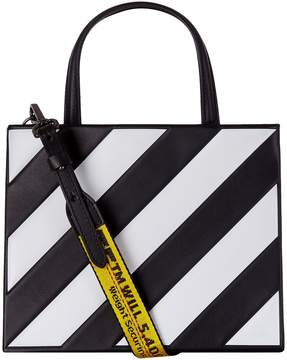 Off-White Off White Diagonals Top Handle Bag