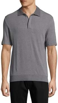 Lot 78 Lot78 Men's Luxe Spread Collar Polo