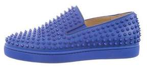 Christian Louboutin Roller Boat Spikes Sneakers