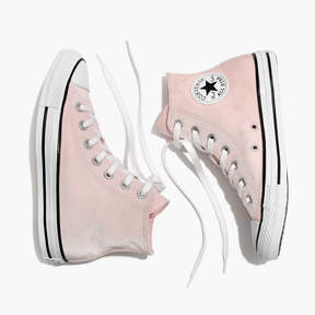 Madewell Converse® Chuck Taylor All Star High-Top Sneakers in Velvet