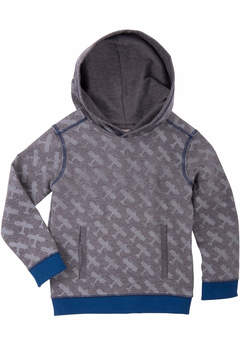 Hatley Gray Hooded Sweatshirt