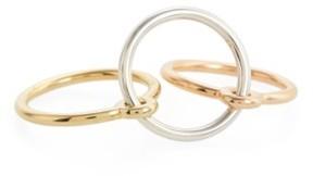 Charlotte Chesnais Women's Three Lovers Linked Rings