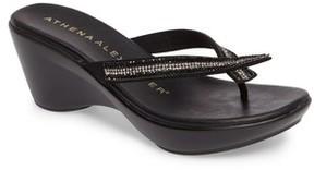 Athena Alexander Women's Sienna Wedge Sandal