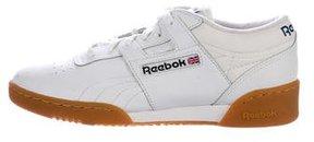 Reebok Leather Low-Top Sneakers