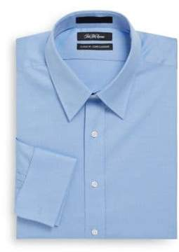 Saks Fifth Avenue Classic-Fit French Cuff Dress Shirt