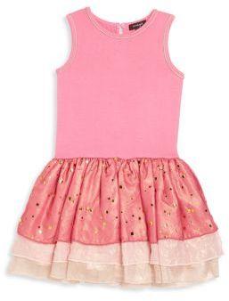 Imoga Toddler's, Little Girl's & Girl's Rosanne Tiered Drop-Waist Dress