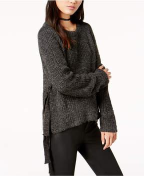 Astr Lexie Side-Tie Sweater
