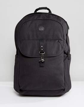 Timberland Walnut Hill 20L Backpack Leather Trim in Black
