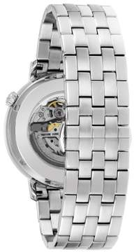Bulova 96A199 Silver 41mm Stainless Steel Classic Mens Watch