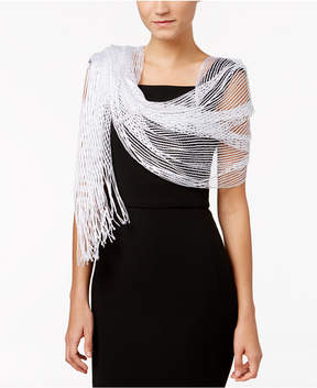 INC International Concepts Lurex Metallic Net Eveing Wrap, Created for Macy's