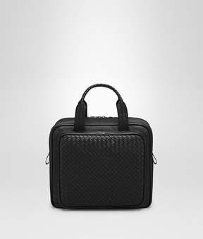 Bottega Veneta Nero Intrecciato Briefcase