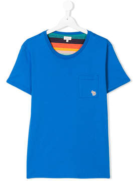 Paul Smith TEEN chest pocket T-shirt